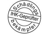 Schädlingsbekämpfer: IHK zertifiziert